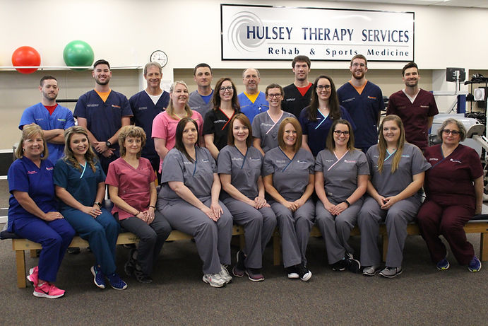 Hulsey Therapy Staff