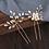 Thumbnail: Set of 2 Crystal Pearl Hair Pins