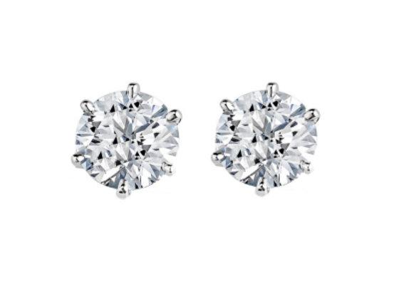 Lori Crystal Stud Earrings