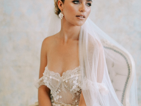 Bridal Editorial Featuring Berta and Megan Therese Couture.