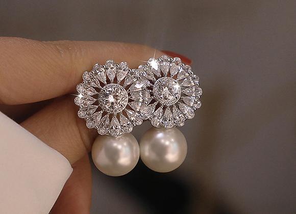 Romy Crystal Statement Earrings