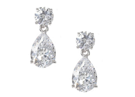 Alena Dainty Crystal Gem Earrings