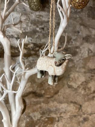Hanging Farm Animals Sheep