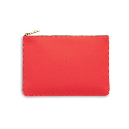 Small Zip Clutch Coral EB