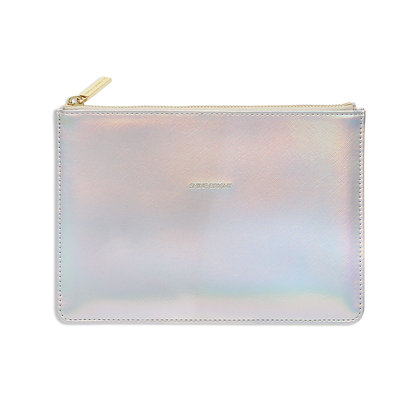 Small Zip Clutch Iridescent EB