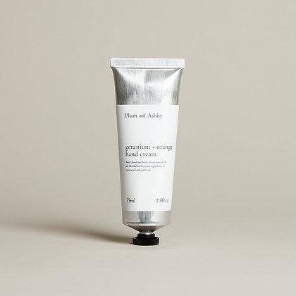 Geranium & Orange Hand Cream Plum & Ashby