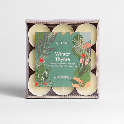 Winter Thyme Tealights