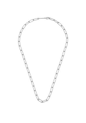 Long Link Silver Necklace EB
