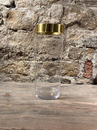 Brass Rim Vase