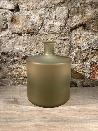 Matte Glass Vase