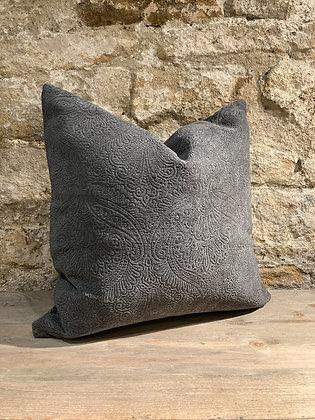 Damask Pattern Slate Grey