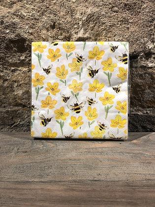 Napkin Bee/ Daffodil