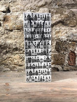 Black & White Illustrative Bottle Bag