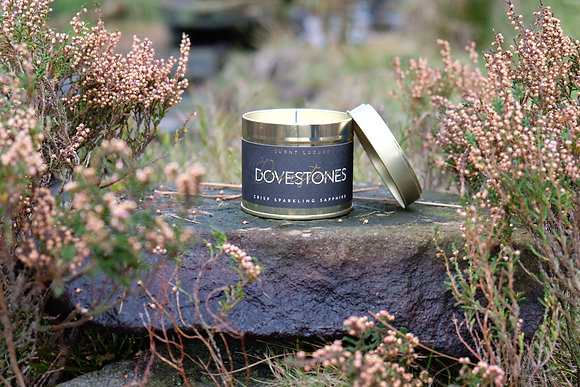Dovestones Tin Candle