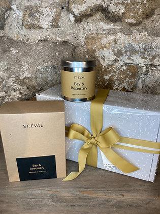 St Eval Bay & Rosemary Gift Set