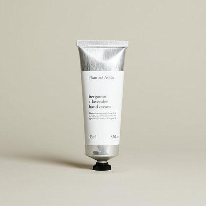Bergamot & Lavender Hand Cream Plum & Ashby