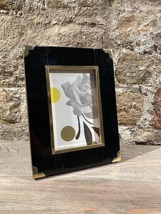 Black & Gold Frame