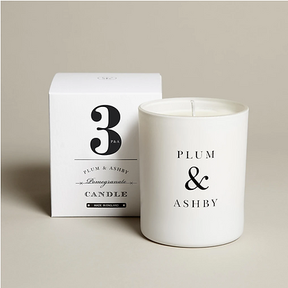 Pomegranate Candle Plum & Ashby