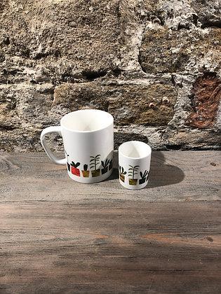 Flower Pot Mug or Small Pot
