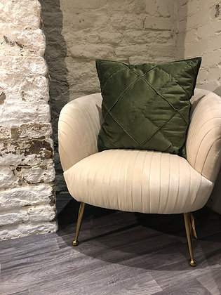 Olive Stitch Cushion