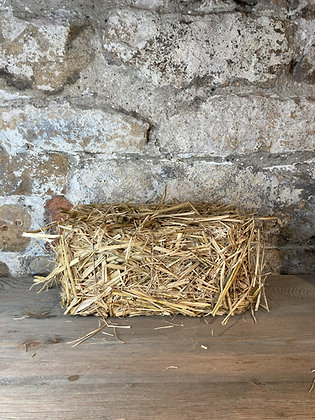 Mini Decorative Hay Bale