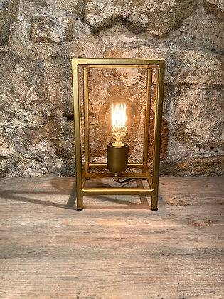 Brass Metal Frame Lamp