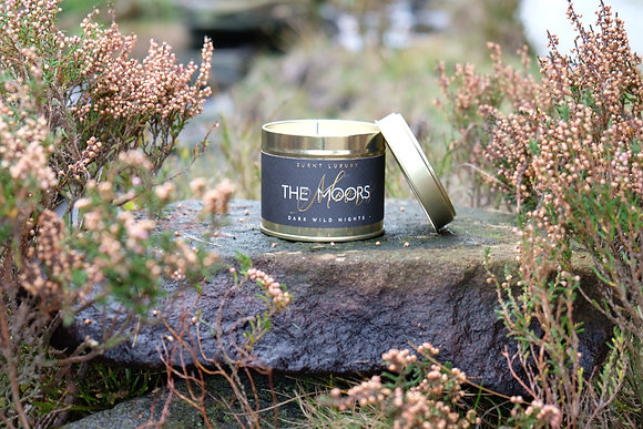 The Moors Tin Candle