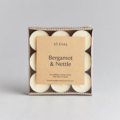 Bergamot & Nettle Tealights