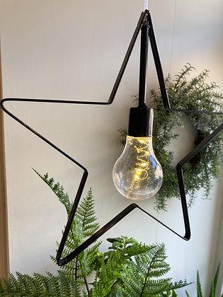 Star LED Hanging Battery Light
