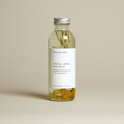 Wild Fig & Saffron Bath Essence Plum & Ashby