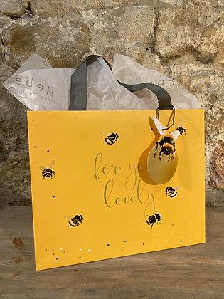 Yellow Bumblebee Gift Bag
