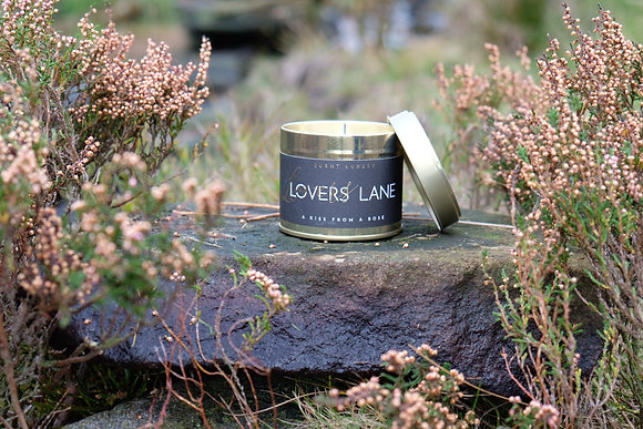 Lovers Lane Tin Candle