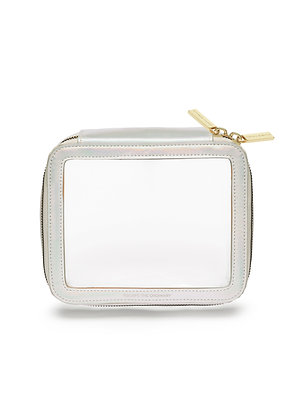 Iridescent Clear Zip Pouch