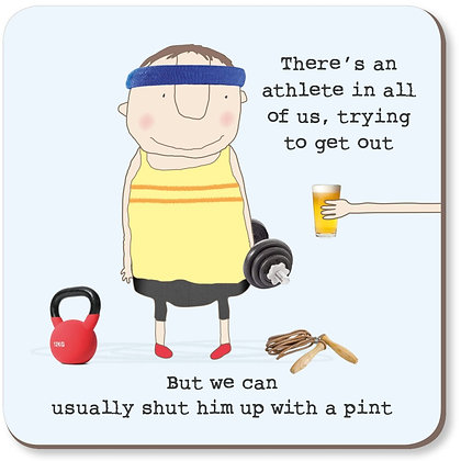 Athlete Coaster Rosie Made A Thing