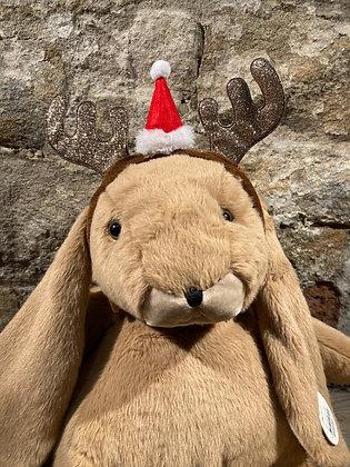 Novelty Reindeer Headband Santa