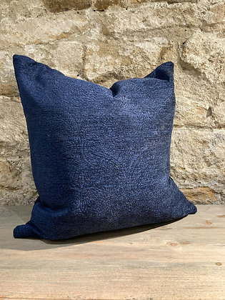 Damask Pattern Cushion Midnight