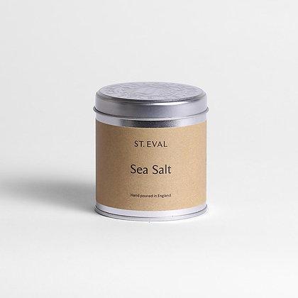 Sea Salt Candle Tin
