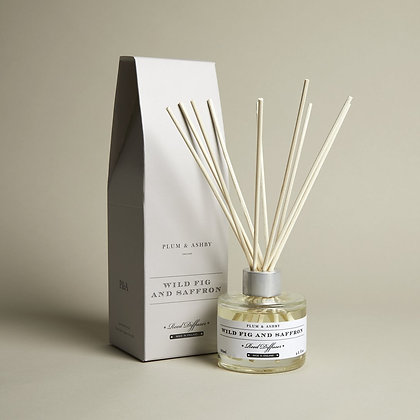 Wild Fig & Saffron Reed Diffuser Plum & Ashby