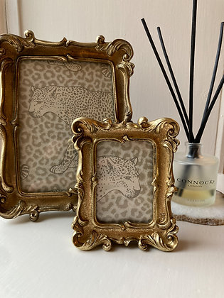 "Mini Gold Gallery Frame 3.5""x2.5"""