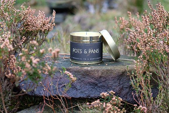 Pots & Pans Tin Candle
