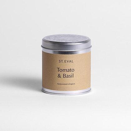 Tomato & Basil Candle Tin