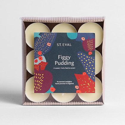 Figgy Pudding Tealights