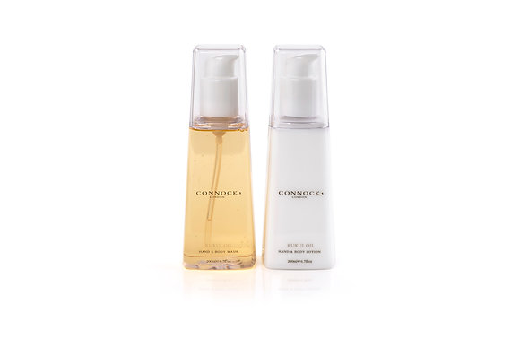 Connock London Kukui Oil Body Gift Set