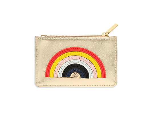 Rainbow Gold Coin & Card Purse EB