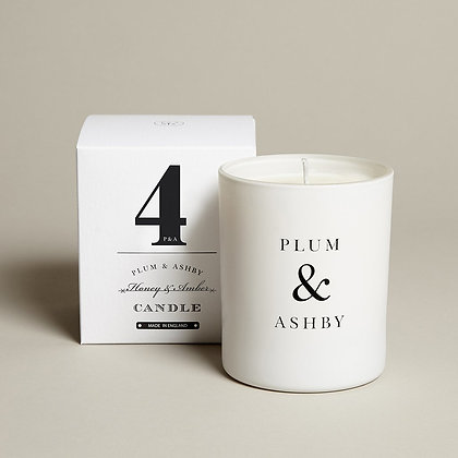 Honey & Amber Candle Plum & Ashby
