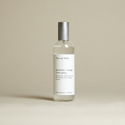 Geranium & Orange Room Spray Plum & Ashby