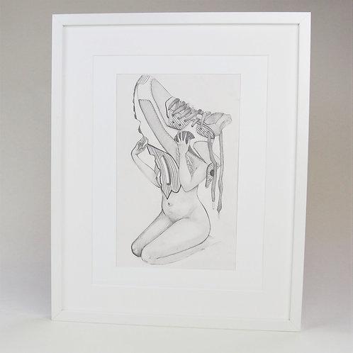 Airmax1 Sneakerhead Drawing A3