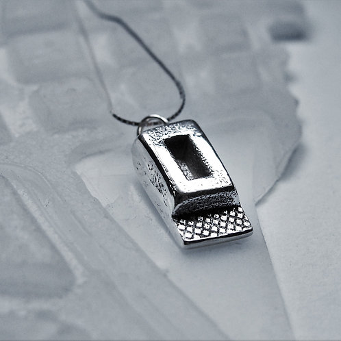 Sterling Silver Sole Pendant