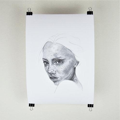 A3 Print - Freckle Portrait