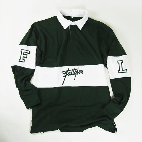 The FattyLou 'Thugby' Shirts - Bottle Green